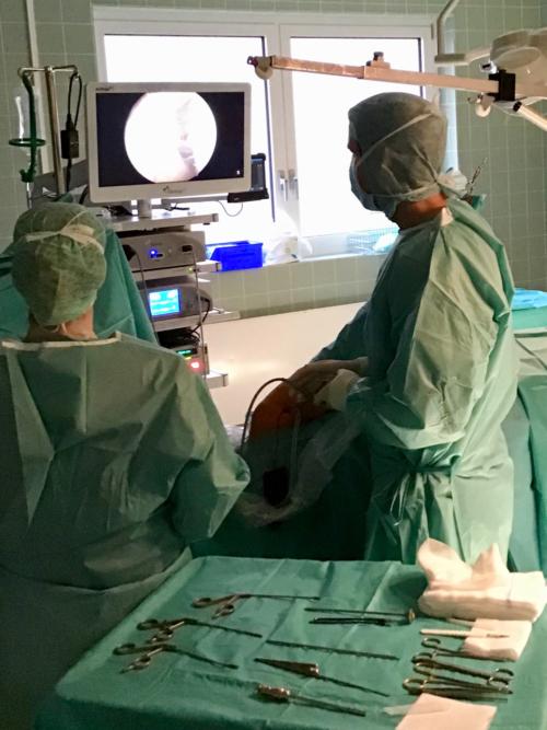 Ambulante Operationen in der Gemeinschaftspraxis Orthopädie Wesseling