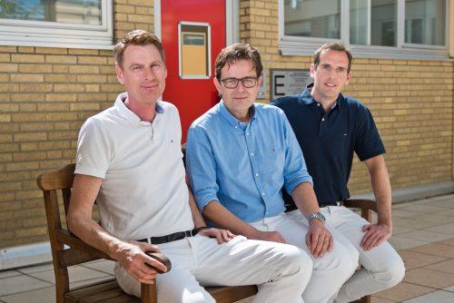 Ärzteteam v.l. Marcus Laufenberg, Dr. med. Joachim Schädel, Till Kraushaar